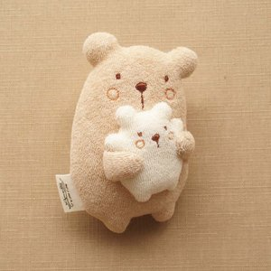 オーガニックコットン ママだっこ ベビーラトル 日本製 アモローサマンマ 赤ちゃんのおもちゃ 男の子 女の子 男女兼用 にぎにぎ ガラガラ 新生児用品|babynetshop