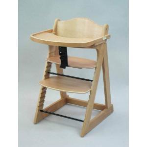 木製ベビーチェア プレミアムベビーチェア ナチュラルの商品画像|ナビ