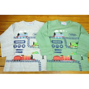 ニシオ 機関車トーマス長袖Tシャツ041TM4011|babyshop