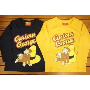 ナカタ おさるのジョージ長袖TシャツCurious George EN9187|babyshop