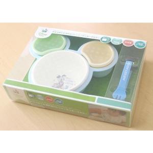 錦化成ミッキーマウス 片手で持てる離乳食パレット|babyshop