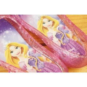 コマリヨー キラキラ光るガラスの靴風シューズ ラプンツェル6961|babyshop|02