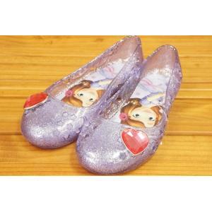 コマリヨー キラキラ光るガラスの靴風シューズ ソフィア6965