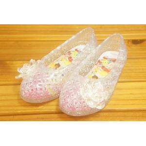 コマリヨー ガラスの靴風シューズ プリンセス クリア7131-02