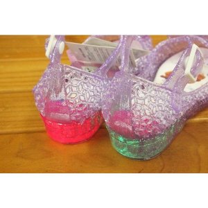 コマリヨー キラキラ光るガラスの靴風シューズ ソフィア7332-01|babyshop|03