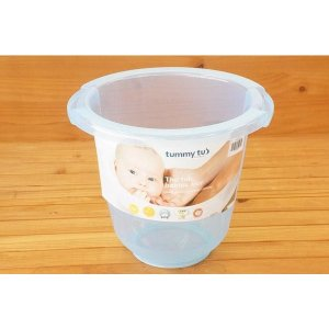 ドイツ生まれのベビーバス タミータブ(TummyTub)ブルー(同梱物ある場合には別途送料かかります)|babyshop