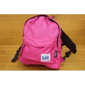 Lee×StompStamp子供用リュックサックSサイズPK(ピンク)9185835/9185571|babyshop