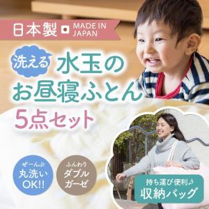 お昼寝布団 洗える  日本製 5点 布団セット 幼稚園 保育園用 ベビー 出産祝い