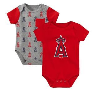 メジャーリーグ エンゼルス ロンパース ベビー キッズ ギフト セット Los Angeles Angels Bodysuit 【送料無料】通販 WSC SPORTS LOUNGE babysports