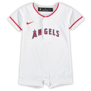 メジャーリーグ エンゼルス ロンパース ベビー キッズ 出産祝い 0歳児 1歳児 2歳児 Los Angeles Angels Jersey Romper【送料無料】通販 WSC SPORTS LOUNGE babysports