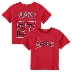 メジャーリーグ エンゼルス Tシャツ マイク トラウト 1歳 2歳 出産祝い ギフト セット Los Angeles Angels T-shirt 送料無料 通販 WSC SPORTS LOUNGE babysports