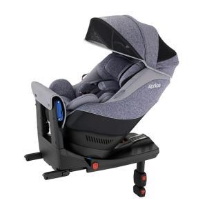 アップリカ 新生児チャイルドシート クルリラAC ネイビー NV  ISOFIX対応