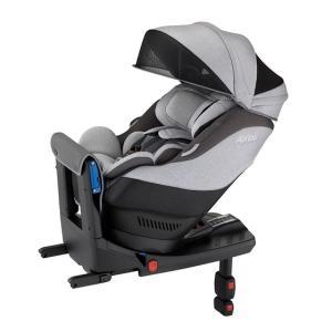 アップリカ 新生児チャイルドシート クルリラAC グレー GR  ISOFIX対応
