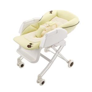 赤ちゃんと一緒の毎日に、いろんなシーンで大活躍するハイローベッド&チェア ベーシックモデル。  寝か...