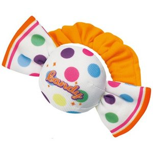 まるで本物のようなキャンディがラトルになりました! 遊び心のあるスイーツモチーフで、赤ちゃんをかわい...