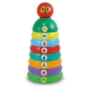 はらぺこあおむしスタッキング&チャイムボール 日本育児 おもちゃ 玩具|babytown