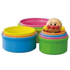 カップを重ねて脳を鍛えよう! 10個のカップを積む、並べる、物を入れるなど豊富な遊びができます。 裏...