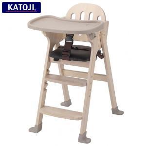 カトージ 木製ハイチェア/ベビーチェア Easy-sit (ホワイトウォッシュ)