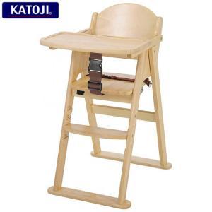 カトージ ベビーチェア 木製ハイチェアcena ステップ切り替え(ナチュラル)|babytown