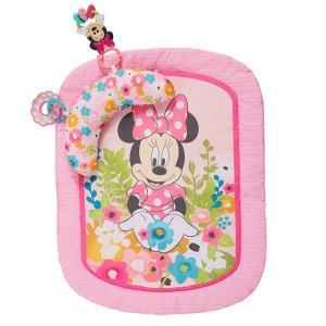 Disney baby ミニーマウス プロップマット クッション・おもちゃ付き プレイマット/ごろ寝マット|babytown