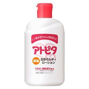 丹平製薬 新アトピタ 保湿全身ミルキィローション 120ml 乳液タイプ|babytown