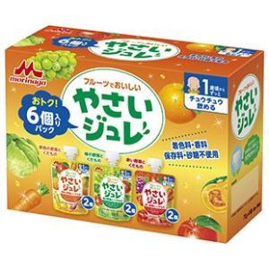 森永乳業 フルーツでおいしい やさいジュレ6個パック 1歳頃〜|babytown