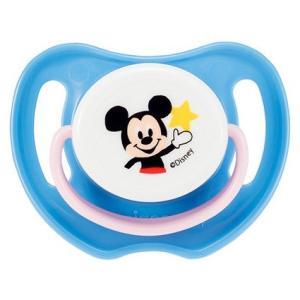 ピジョン おしゃぶり ミッキーマウス 0ヵ月以上/S やわらかいシリコーンゴム製 新生児〜 13354 babytown