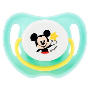 ピジョン おしゃぶり ミッキーマウス 3ヵ月以上/M やわらかいシリコーンゴム製 13355 4902508133036 babytown
