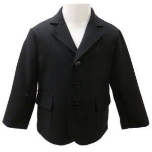 男児フォーマル 黒無地ジャケット 80・90・95・100cm 1818|babytown