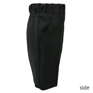 男児フォーマル 黒無地ハーフパンツ 80・90・95・100cm 9999|babytown|02