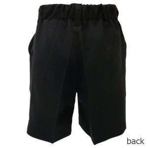 男児フォーマル 黒無地ハーフパンツ 80・90・95・100cm 9999|babytown|03