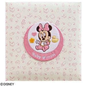 ナカバヤシ ディズニーベビーフエルアルバム ベビーミッキー&フレンズ ア-LB-617-2 ミニーマウス (名入れ対応)|babytown