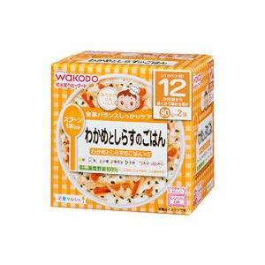 和光堂ベビーフード 栄養マルシェ わかめとしらすのごはん(新) R61 12か月/1歳ごろからの離乳食 4987244179180
