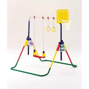 ポップンロール鉄棒 (ブランコ 鉄棒 室内用遊具 大型遊具 ぶらんこ てつぼう)|babytown
