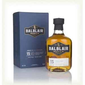 BALBLAIR 15y / バルブレア 15年 46%|bacchus-barrel