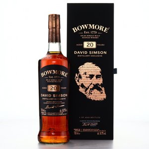 ボウモア20年 デビッド・シムソン 蒸留所限定 50.7% / BOWMORE 20yo David Simson Distillery Exclusive 50.7%|bacchus-barrel