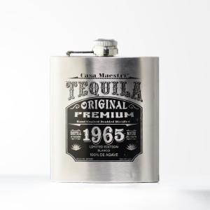 CASA MAESTRI TEQUILA FLASK 200ml / カサ マエストリ テキーラ フラスクボトル 200ml 40%|bacchus-barrel