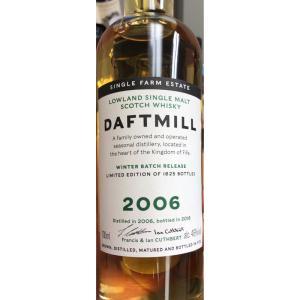 Daftmill2006-2018 / ダフトミル ウィンターバッチ|bacchus-barrel