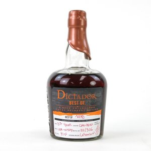 DICTADOR BEST OF 1978 WHISKY STYLE / ディクタドール ベスト オブ 1978 ウィスキー S. 43.8%|bacchus-barrel