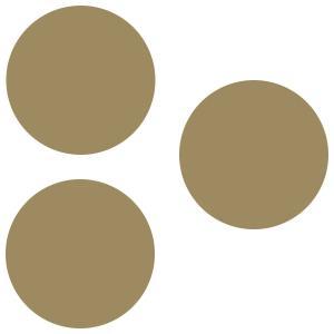 【2500円以上で送料無料】壁面収納 100% Magnet Tack 磁石 100パーセント マグネットタック ゴールド|back