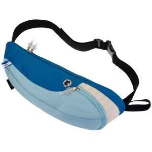 ウエストポーチ MORN CREATIONS シロナガス ウエストポーチ モーンクリエイションズ クジラ ショルダーバッグ ブルー back