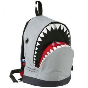 リュック MORN CREATIONS シャーク バックパック Lサイズ モーンクリエイションズ サメ リュックサック グレー back
