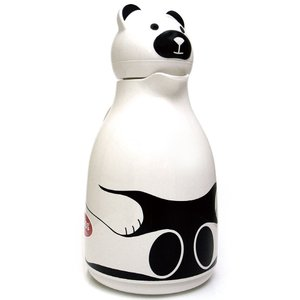 魔法瓶 helios サーモベア 1000ml ポット 卓上魔法瓶 ヘリオス Thermo Bear ホワイト|back