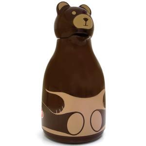 魔法瓶 helios サーモベア 1000ml ポット 卓上魔法瓶 ヘリオス Thermo Bear ブラウン|back