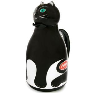魔法瓶 helios サーモキャット 1000ml ポット 卓上魔法瓶 ヘリオス Thermo Cat ブラック|back