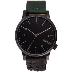 腕時計 KOMONO ウィンストン ガロア ウォッチ コモノ WINSTON GALORE M81CAMO BLACKWOVEN back