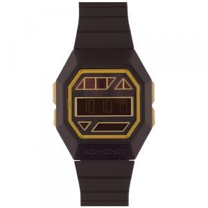 腕時計 KOMONO パワーグリッド ウォッチ コモノ POWERGRID BLACK GOLD back