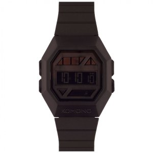 腕時計 KOMONO パワーグリッド ウォッチ コモノ POWERGRID PITCH BLACK back