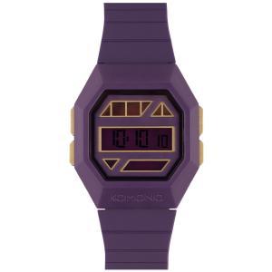 腕時計 KOMONO パワーグリッド ウォッチ コモノ POWERGRID PURPLE GOLD back