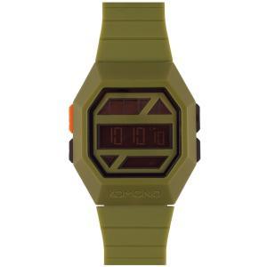腕時計 KOMONO パワーグリッド ウォッチ コモノ POWERGRID ARMY back